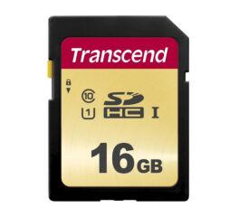 TRANSCEND Carte SDHC UHS I 500S Class 10 16 Go
