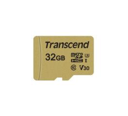 TRANSCEND Carte micro SDHC UHSI 500S Class 10 32 Go adaptate