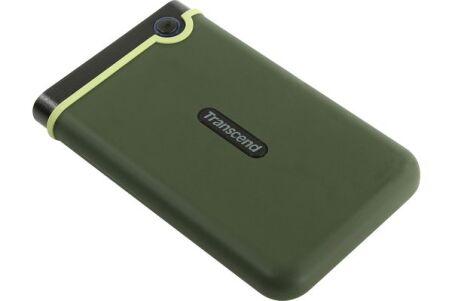 TRANSCEND DD externe 2.5'' StoreJet 25M3 USB 3.0 2 To vert m
