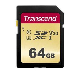 TRANSCEND Carte SDXC UHS I 500S Class 10 64 Go