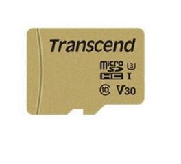 TRANSCEND Carte micro SDHC UHS I 500S Class 10 8 Go adaptate