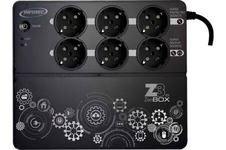 INFOSEC Onduleur Z3 ZenBox EX 700 VA