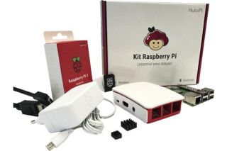 Kit de démarrage officiel Raspberry Pi 3 B+ avec carte NOOBS