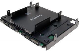 """Berceau 5,25"""" pour 4 SSD/HDD 2.5''"""