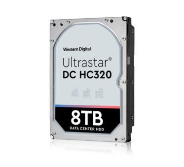 DD 3.5'' SATA III Westen Digital Ultrastar HC320 - 8To