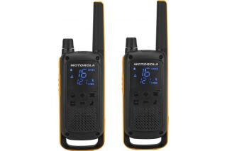 Motorola TLKR T82 EX 2 Talkies Walkies 10 KMS noir