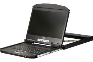 "ATEN CL3100NX CONSOLE LCD 18,5""  VGA/USB faible profondeur"