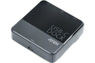 ATEN UH3231 Mini-station Dual-DisplayPort USB-C