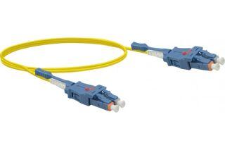 Jarretière optique duplex UHD uniboot OS2 9/125 LC-UPC/LC-UP
