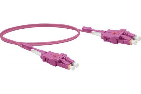 Jarretière optique duplex UHD uniboot OM4 50/125 LC-UPC/LC-U