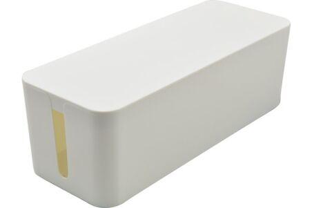 Grande boîte cache-multiprise - Blanc
