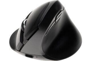 DACOMEX Souris verticale V350WBT 2,4Ghz et Bluetooth noire