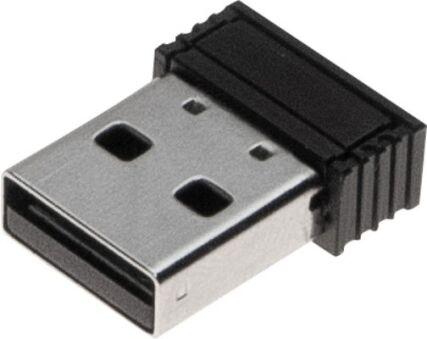 DACOMEX Souris verticale V350-WBT 2,4Ghz et Bluetooth noire