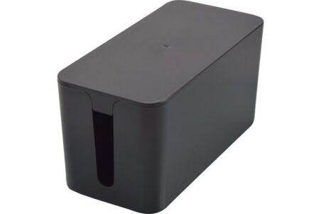 Petite boîte cache-multiprise - Noir