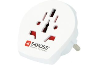 SKROSS WORLD TO EUROPE ADAPTATEUR SECTEUR TRIPOLAIRE