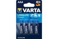 VARTA Piles alcalines 4903110414 LR03 / AAA blister de 4