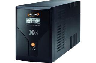 INFOSEC Onduleur X3 EX 3000 VA