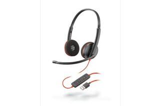 PLANTRONICS Blackwire C3220 casque USB-A - 2 écouteurs