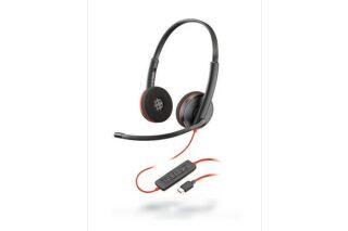 PLANTRONICS Blackwire C3220 casque USB-C - 2 écouteurs