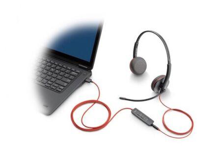 PLANTRONICS Blackwire C3215 casque USB-A+Jack -1 écouteur