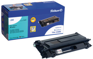 Pelikan Toner 1241 remplace brother TN-135Y, jaune