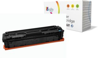 hp Toner no. 201A CF401A pour hp Color LaserJet, cyan