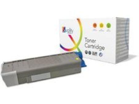 OKI Toner pour OKI C610/N/DN/DIN, jaune