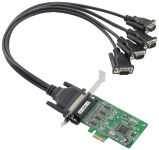 MOXA  Serial Board PCI Express Smart RS-232 4 ports, DB9