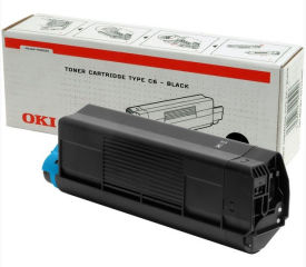 OKI Toner pour imprimante laser OKI Color C5100, noir