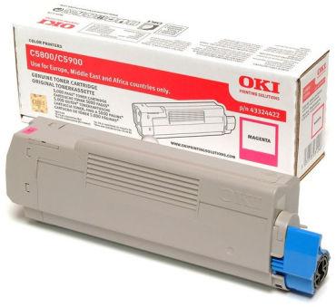 OKI Toner pour OKI C5800/C5800N/C5900/C5900N, magenta