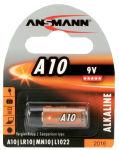 ANSMANN Pile alcaline A10, 9 Volt, blister de 1