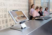 DURABLE Support tablette de table 'TABLET HOLDER TABLE'