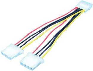 LogiLink Câble d'alimentation en Y, interne, 0,2 m