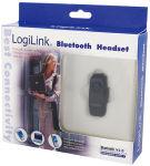 LogiLink Oreillettes Bluetooth V2.0, mono, noir