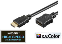 shiverpeaks BASIC-S HDMI câble de rallongement, 1,0 m