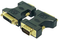 LogiLink Adaptateur VGA mâle 15 pôles-DVI femelle 24+5 pôles
