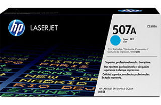 hp Toner pour hp Color LaserJet M551dn, cyan