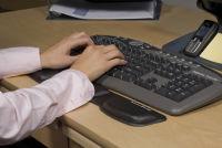Fellowes Repose-poignet pour clavier Health-V, vêtu de Lycra