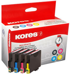 Kores Multipack encre G1627KIT remplace EPSON T2711-T2714