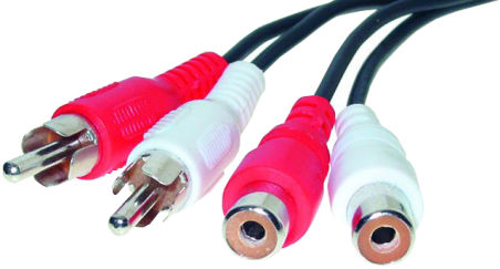shiverpeaks BASIC-S Câble audio, 2 fiches RCA mâle - 2