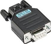 W&T Convertisseur d'interface RS232 9 Pôles fiche femelle-