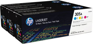 hp Toner no. 305A pour hp Color LaserJet, Rainbow Pack