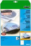 sigel Etiquettes pour CD/DVD, couche spéciale, blanc