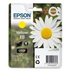 EPSON Encre T1804 pour EPSON Expression Home XP, jaune