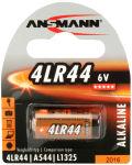 ANSMANN Pile alcaline 4LR44, 6 Volt, blister de 1