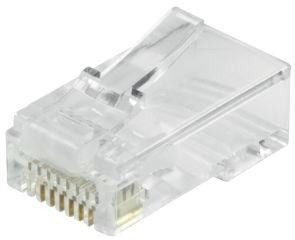 LogiLink Kit connecteurs RJ45 modulaires Cat.6, non blindé