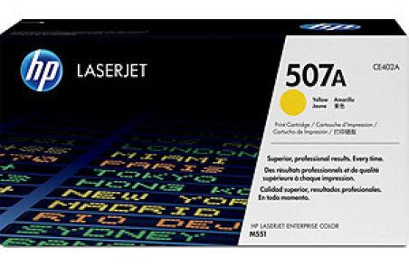 hp Toner pour hp Color LaserJet M551dn, jaune