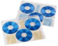 hama Pochette CD/DVD, format A4, pour 6 CD, tranparent/blanc