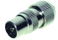 shiverpeaks BASIC-S Fiche coaxiale pour antennes 9,5 mm