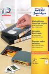 AVERY Zweckform Etiquettes Stick+Lift pour disquettes 3,5'